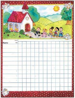 Sunday School Attendance Chart Printable | Attendance Chart ...