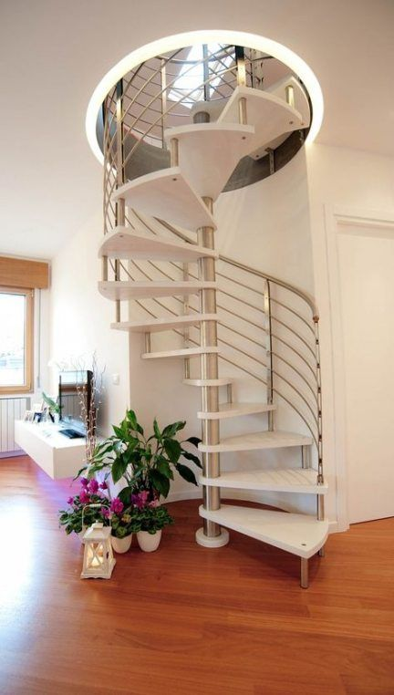 Best 54 Ideas Attic Stairs Diy Spiral Staircases For 2019 In 400 x 300