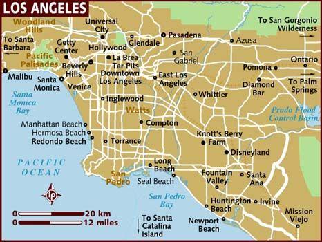 LA Hollywood Disneyland Beverly Hills Universal Studios