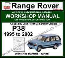 Range Rover P38 Workshop Service Repair Manual & Wiring ... on