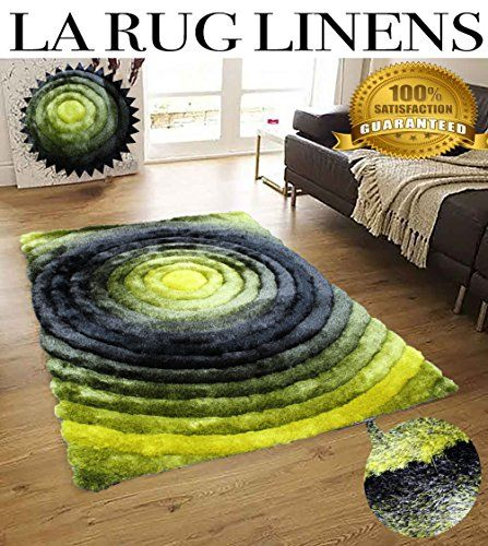 Shimmer Home Store Office Cozy Shag Collection 3d Shag Rug