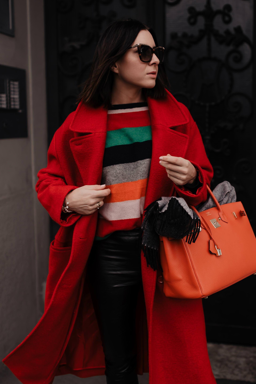 der rote Mantel im Winter – so kombiniere ich den Hingucker