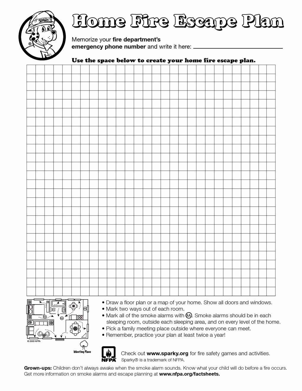 Safety Plan Worksheet Evacuation Plan Escape Plan Emergency Plan [ 1320 x 1020 Pixel ]
