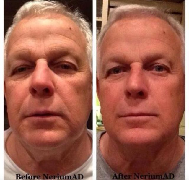 Holy crap! Love Nerium! It's not just for females!! Www.teamholly.nerium.com