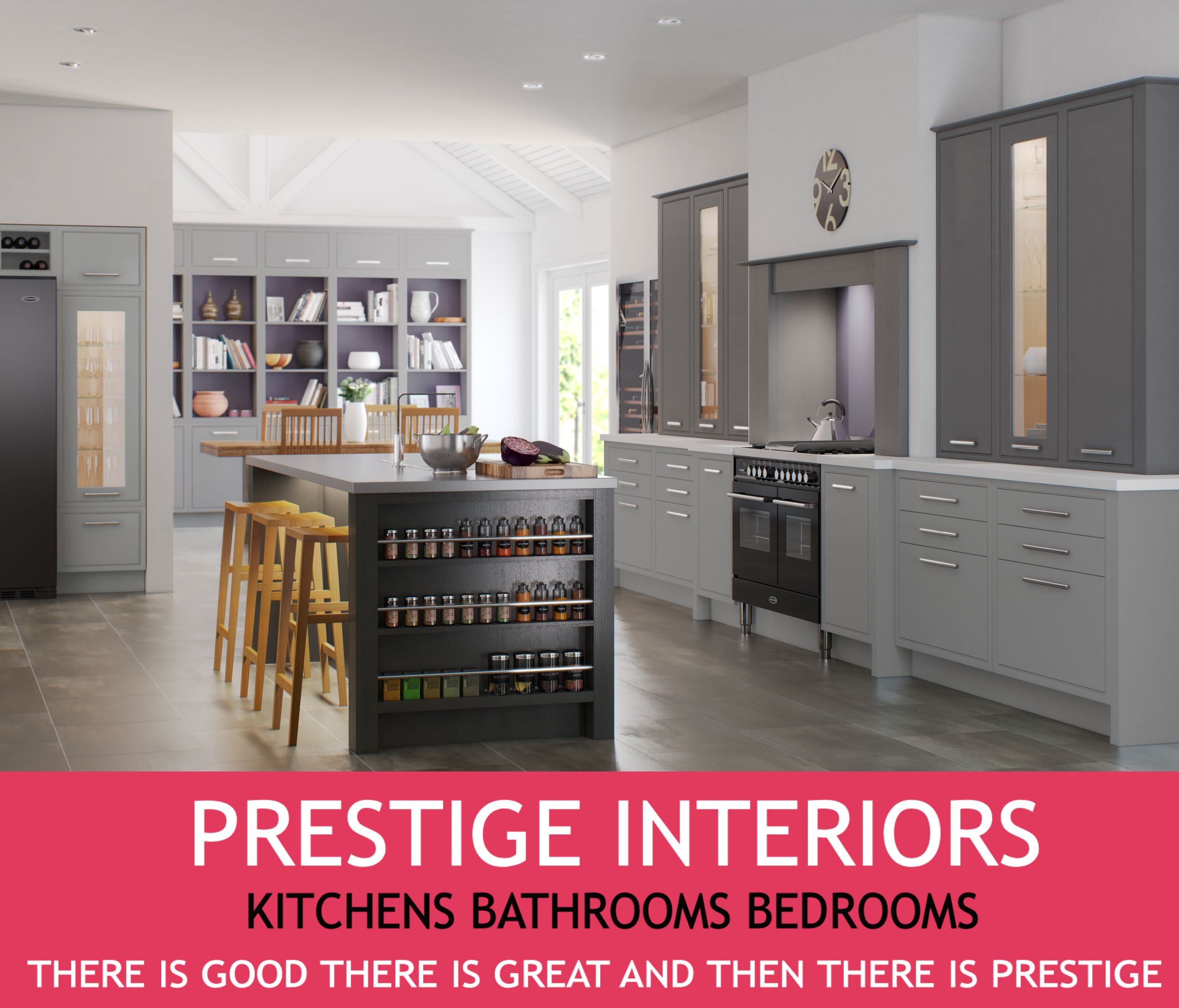 Prestige Kitchen Cabinets: The Leading #Kitchen Showroom In East