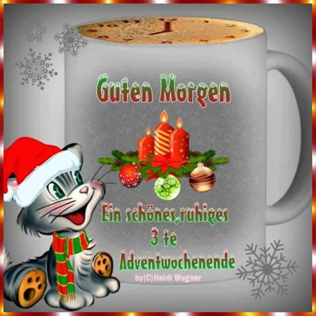 Pin Von Birgit Crews Auf Advent Weihnachts Gruesse Guten