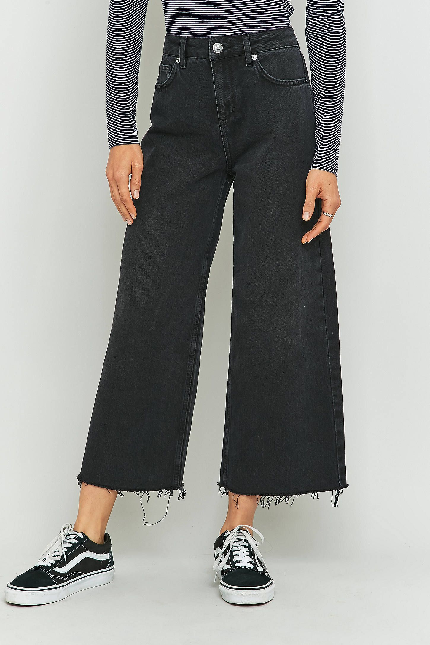 08f56d61cf BDG Flood Cropped Wide Leg Jeans | style | Cropped wide leg jeans ...