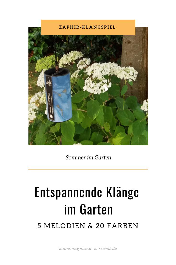 Zaphir Klangspiel Im Original Shanti Design Klangspiel Garten Ausgefallene Deko