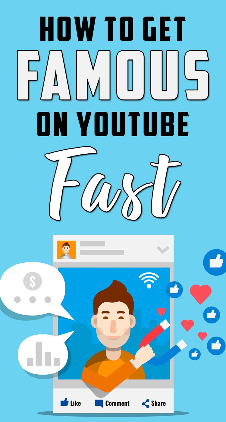 Learn How To Get Famous On Youtube Fast Howtogetfamousonyoutube Famous Viralvideos Viral V How To Get Famous Youtube Channel Ideas Start Youtube Channel