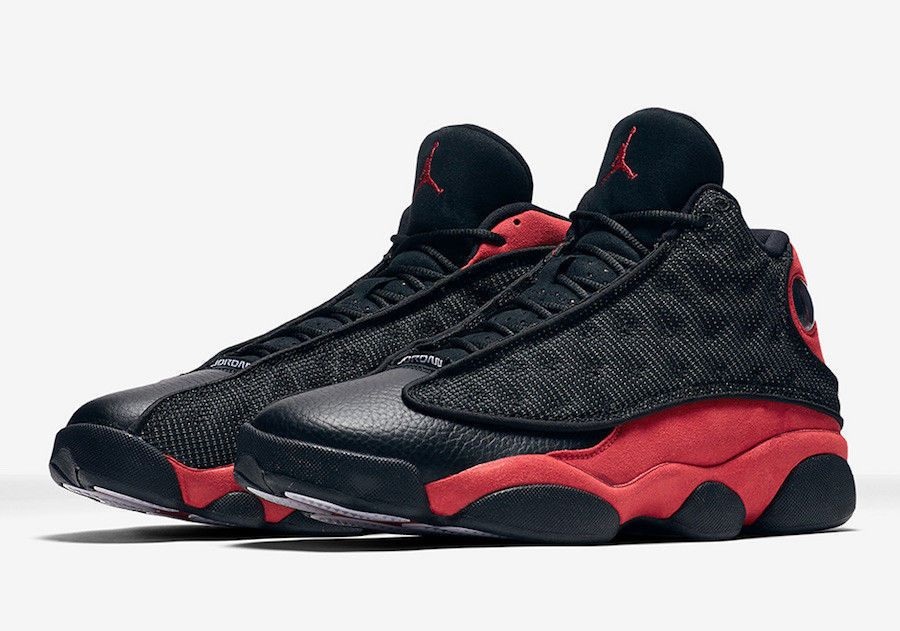 c6817513ac Nike Air Jordan XIII 040911 Y3 Black Red Men s Basketball Shoes Size 9