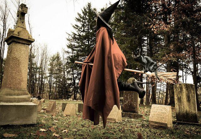 Halloween Witch by Farmernudie, via Flickr