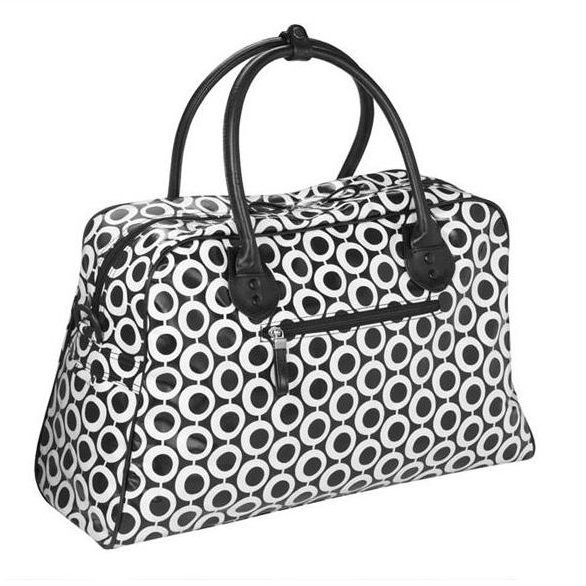 Monohoops Overnight Bag / Weekend Bag by Julie Slater and Son ...