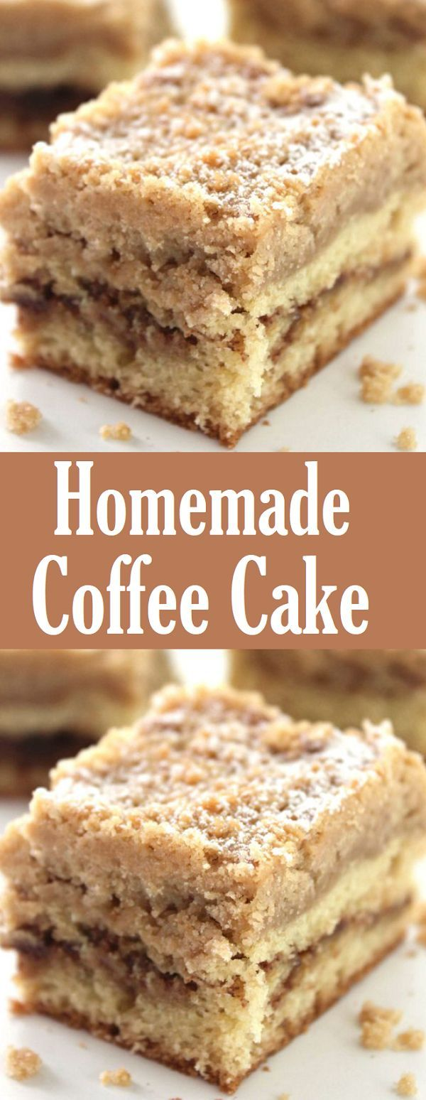 Homemade Coffee Cake Homemade coffee cake, Homemade