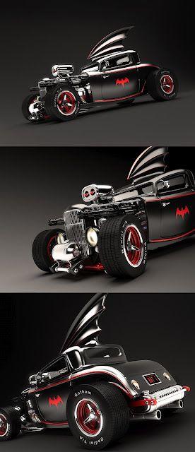 Hot Rod Batmobile