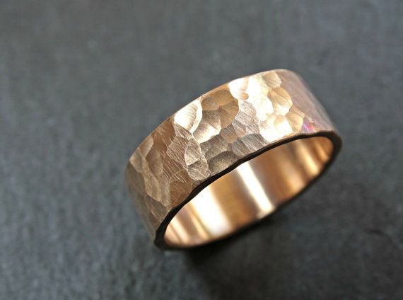 Boho Bronze Ring s Gold Bronze Ring Hammered Classic Size Bronze Ring Bronze Stacking Ring Bronze Band Bronze Ring Bronze Jewelry