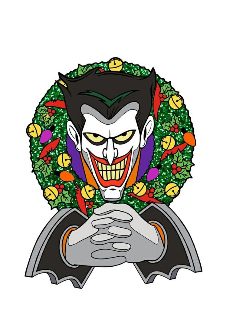 Christmas With The Joker.Pin On The Joker