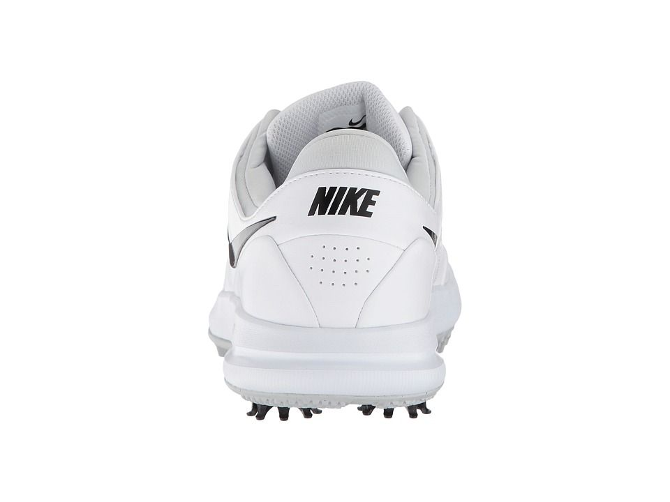 best service 562e0 26911 Nike Golf Air Zoom Accurate Womens Golf Shoes WhiteBlackMetallic Silver Pure