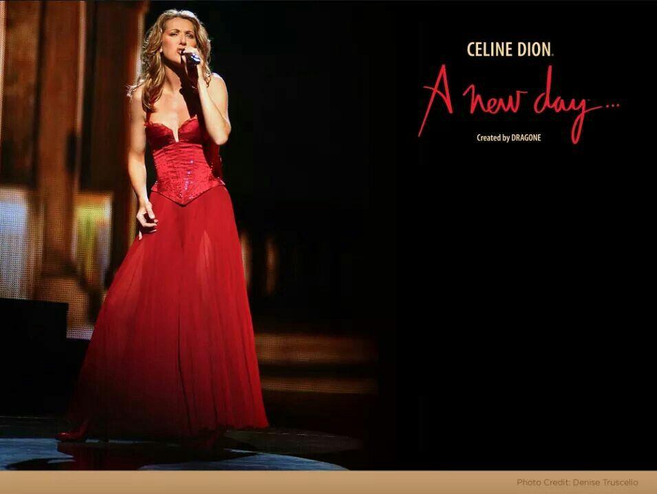 Celine Dion Live In Vegas A New Day Show Celine Dion Formal Dresses Long Celine