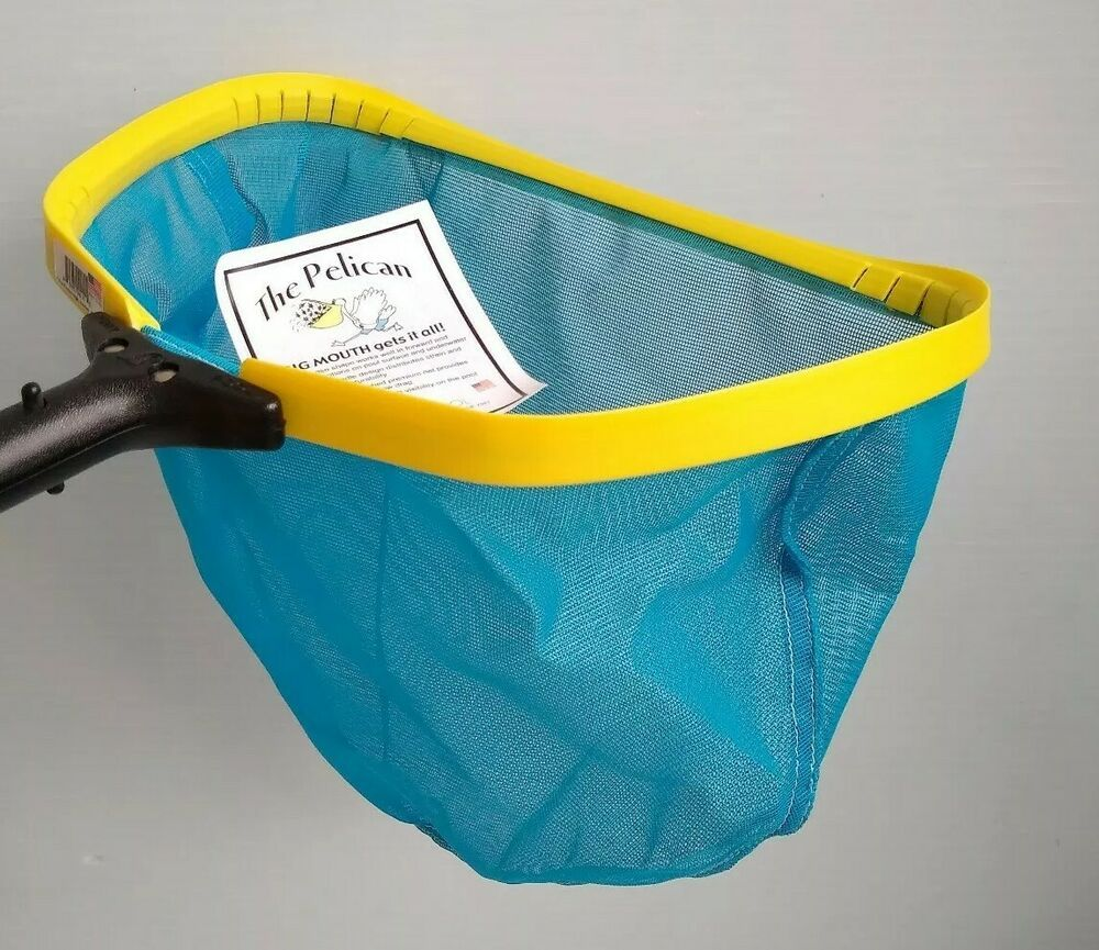 New Pelican Swimming Pool Pro Skimmer Leaf Net With Mesh Netting Puritypool Poolspapartsaccessories Swimming Pools