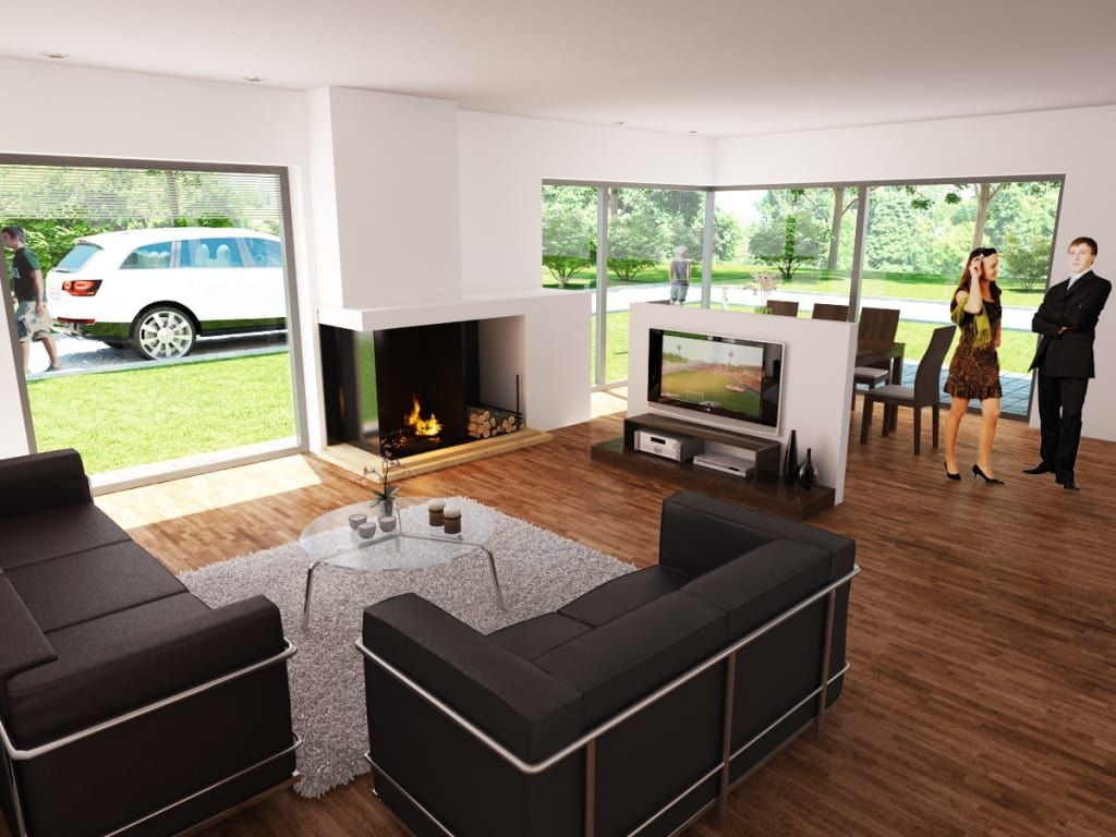 Delightful Moderne Wohnzimmer Bilder: Bauhaus P 2 | Homify Nice Ideas