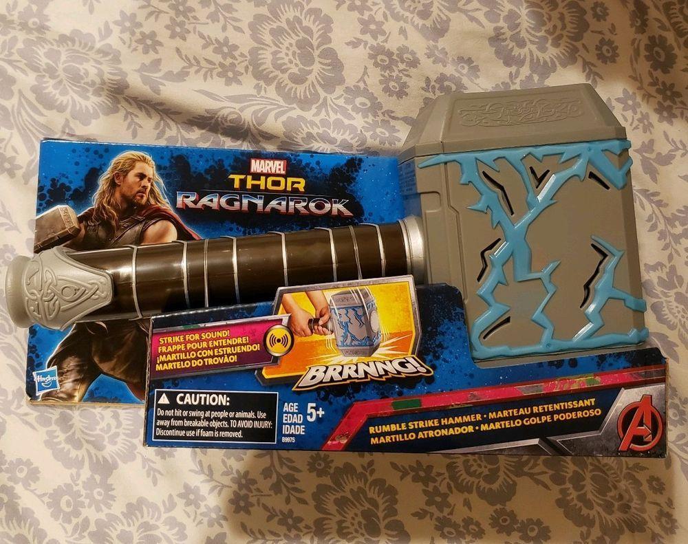 Marvel Thor Ragnarok Thor Rumble Strike Hammer Brand New Marvel Thor Thor Marvel [ 791 x 1000 Pixel ]