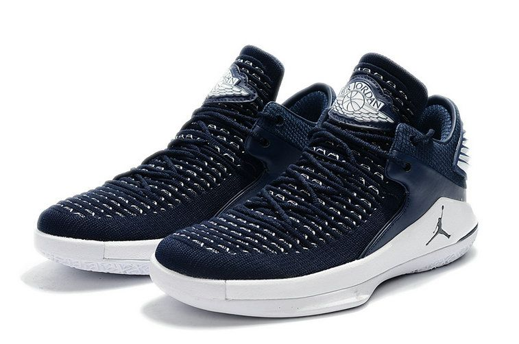 differently 8b8a9 7ad3e Buy Air Jordan 32 Low PE White Navy Blue