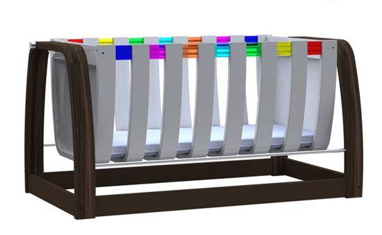 Babycotpod S Metro Swinging Crib Ga Ga Or Gag Crib Swing Modern Baby Cribs Modern Crib