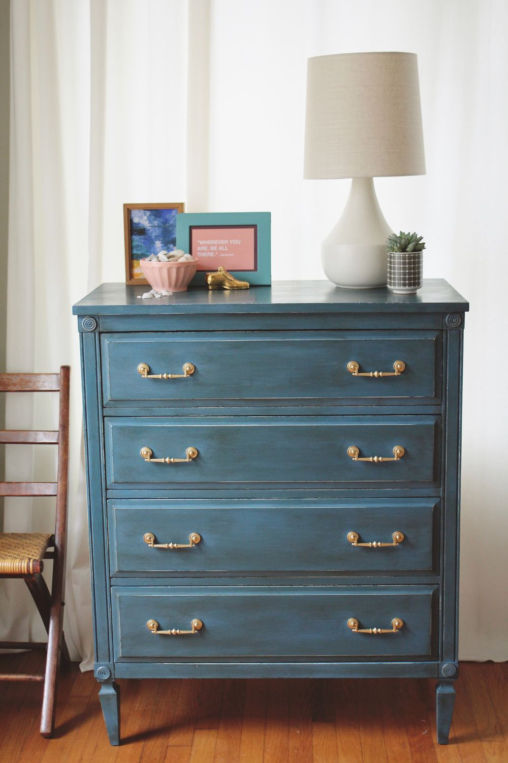 Annie Sloan Colors I Love Aubusson Blue Dresser A Simpler Design A Hub For All Things Creative Stylist Photography Graphic Design Home Decor Annie Sloan Painted Furniture