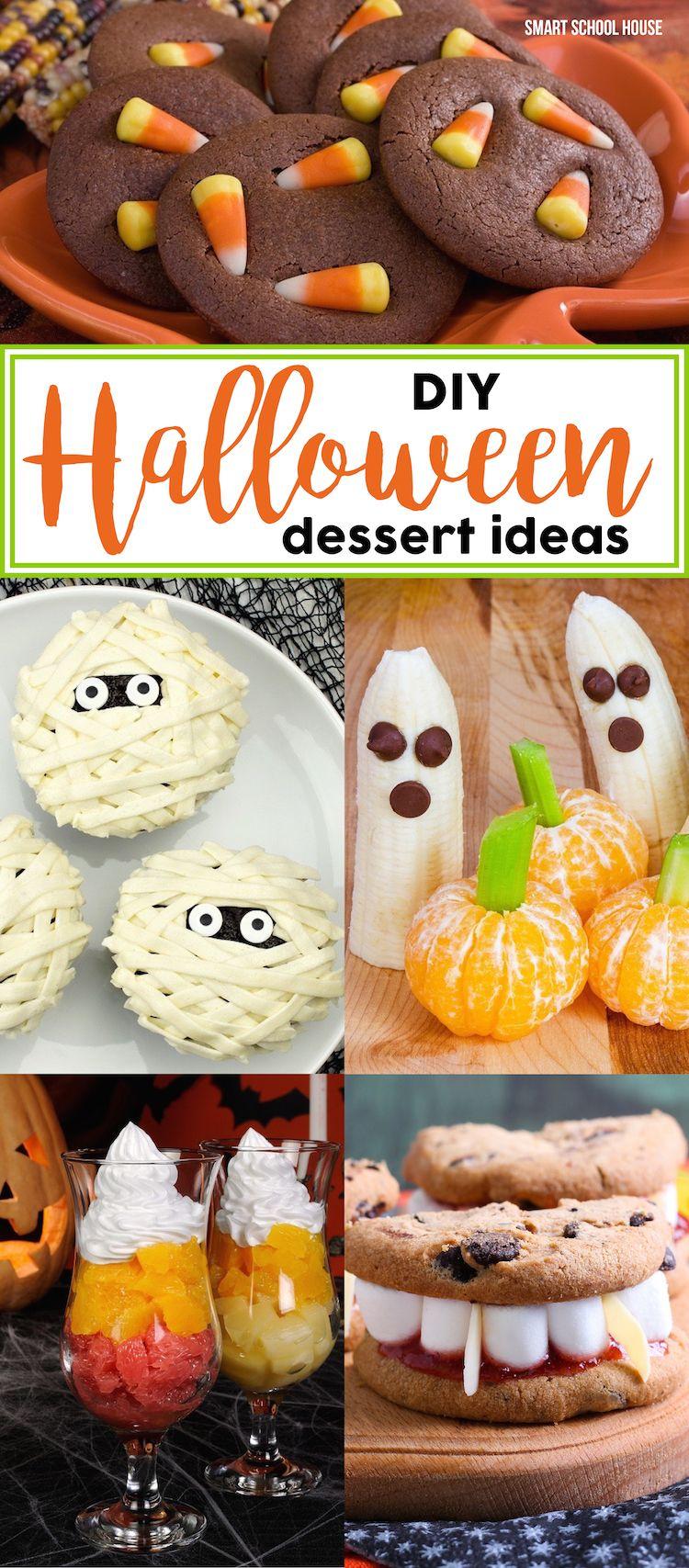 Halloween dessert ideas that are genius but simple