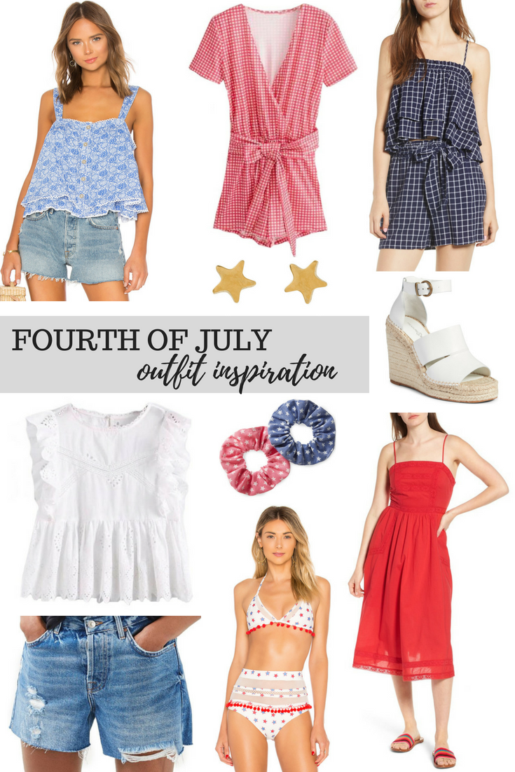 2582379b4f65a8 Fourth of July Outfit Inspiration    I can hardly believe that we are so  close