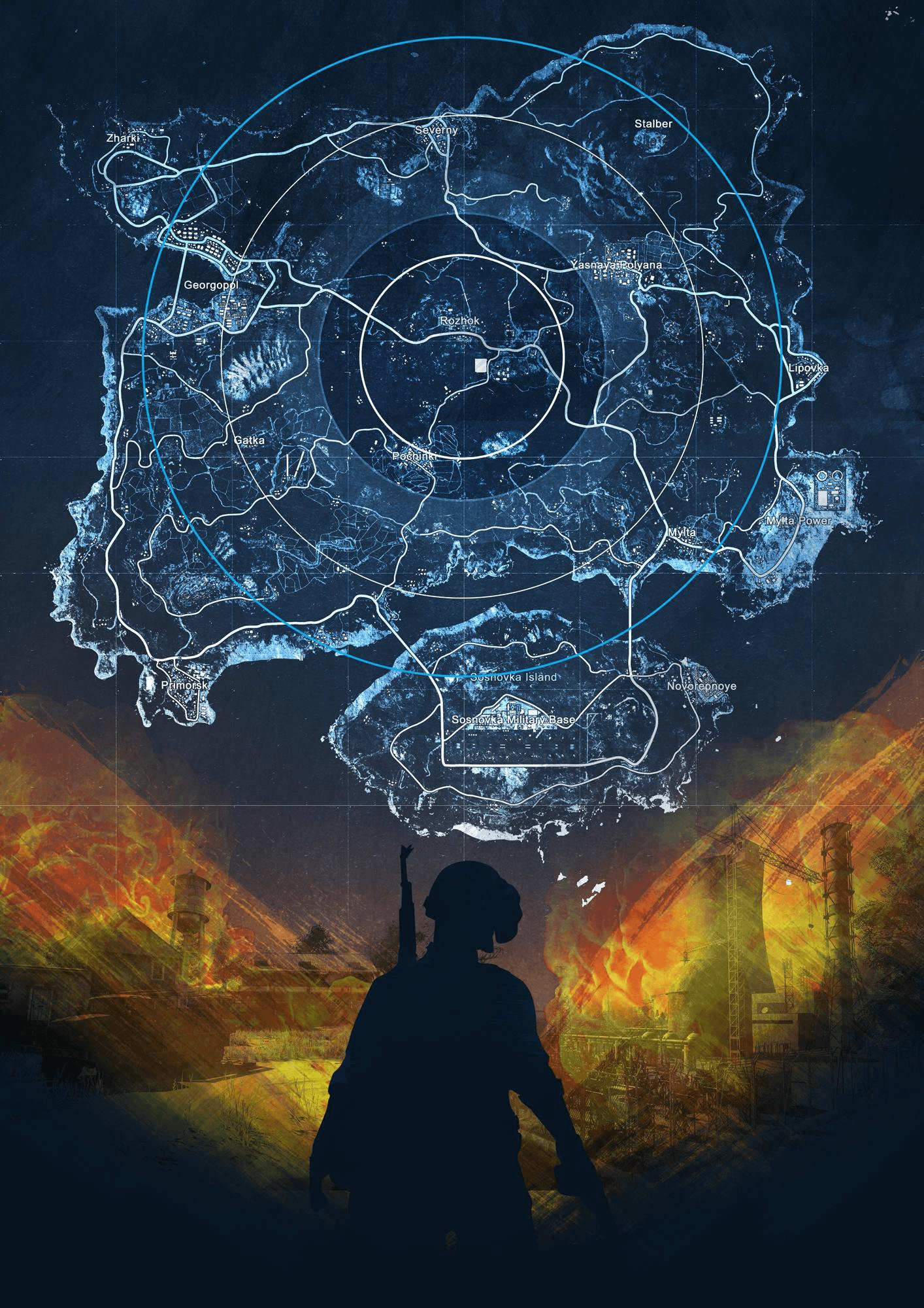 Player Maps Pubg Wallpapers for Phone and HD Desktop