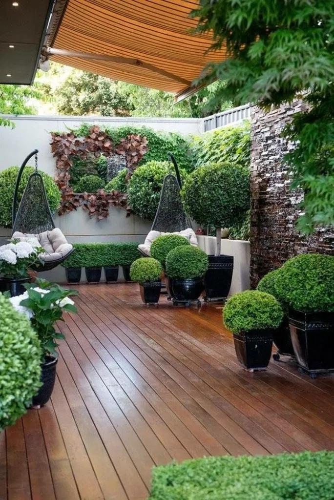 27 Creative Patio Ideas To Beautify Your Home On A Budget Allhous Com Patio Courtyard Gardens Design Small Courtyard Gardens Backyard Landscaping Designs