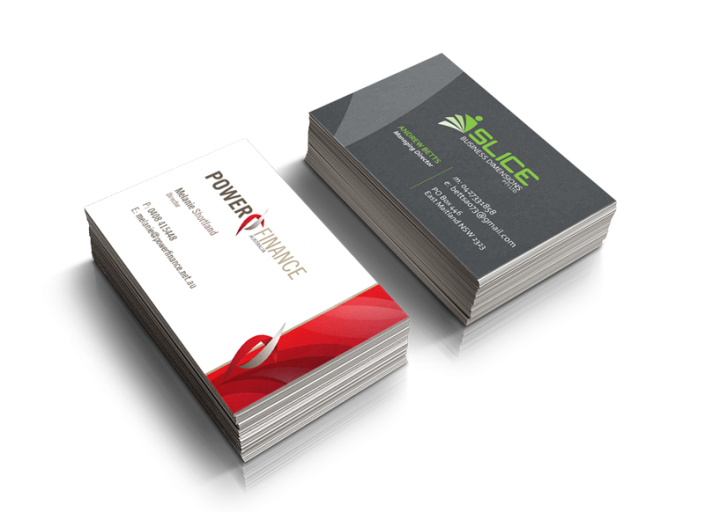 Business Card Printing TwoSided at Printing business