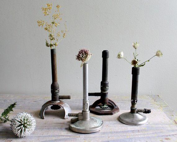 Bunsen Burners Flower Vase Interflora Table Top Pinterest Vase