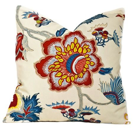 I pinned this Garden Gorgeous Pillow in White from the Society Social event at Joss & Main!