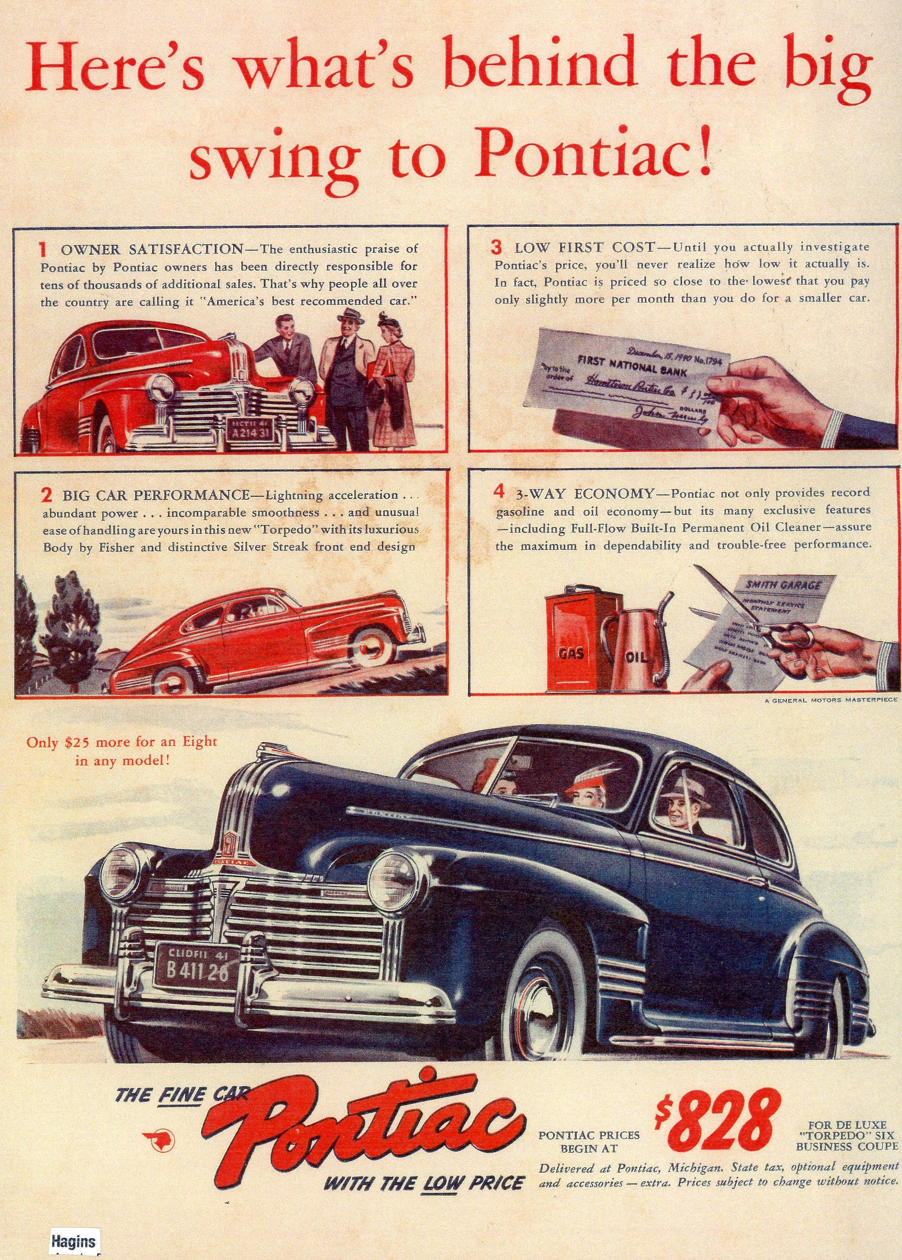 1941 ad. Hagins | 1940s Ads | Pinterest | Ads, Cars and Amazing cars