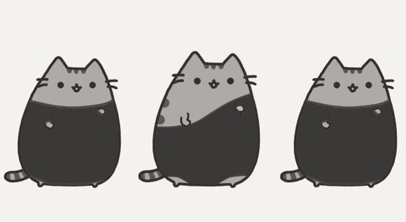 Phenomenal 12 Pusheen Cats As Characters And Celebs Pusheen Pusheen Squirreltailoven Fun Painted Chair Ideas Images Squirreltailovenorg