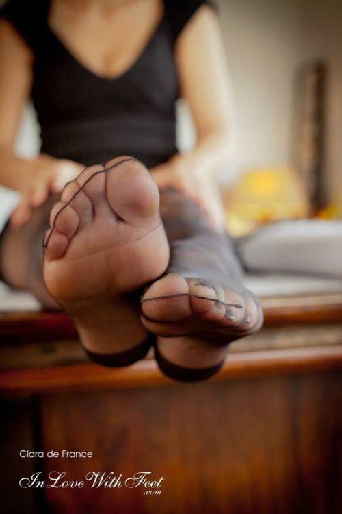 Pin On Nylon Feet