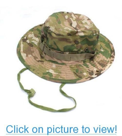 71f9a7e332da7 Go Again Military Army Marine Bucket Jungle Cotton Hunting Fishing Boonie  Hat Cap CP Camo  Go  Military  Army  Marine  Bucket  Jungle  Cotton   Hunting ...
