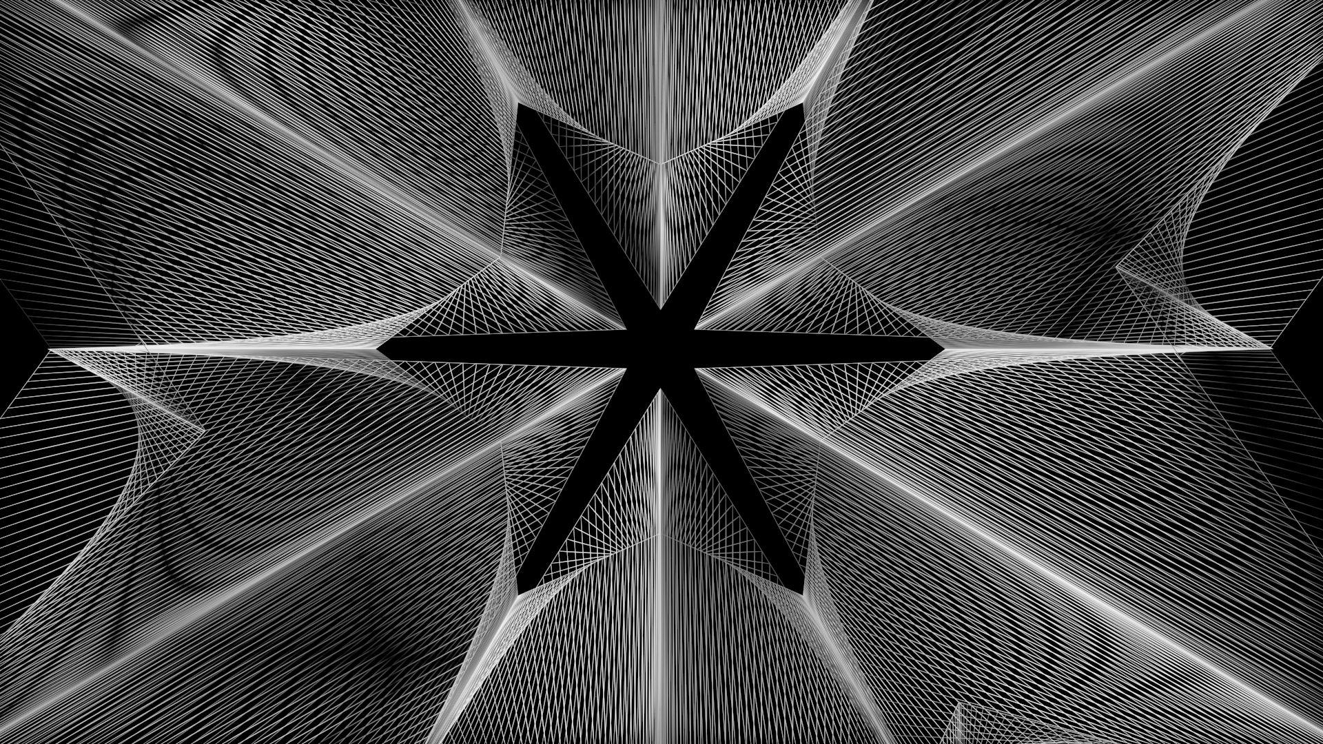 Geometrías generadas a partir de shapes estrella. con ...