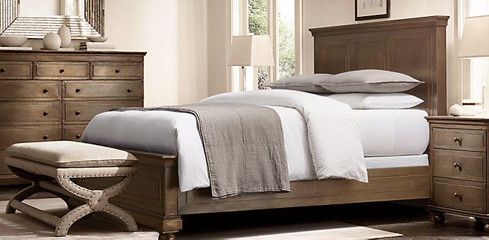 La Salle Metal Wrapped Bedroom Collection In Aged Brass By Restoration  Hardware. Bedroom Design Ideas We Love At Design Connection, Inc. | Kansas  Cu2026 ...