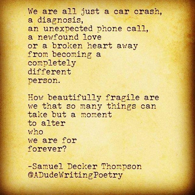 Instagram Post By Samuel Decker Thompson Adudewritingpoetry