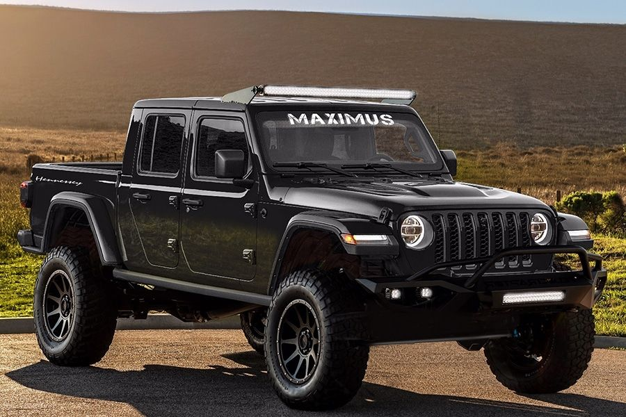 Hennessey Maximus 1000 Jeep Gladiator Truck Goes Beyond Ultimate Jeep Gladiator Jeep Pickup Truck Jeep