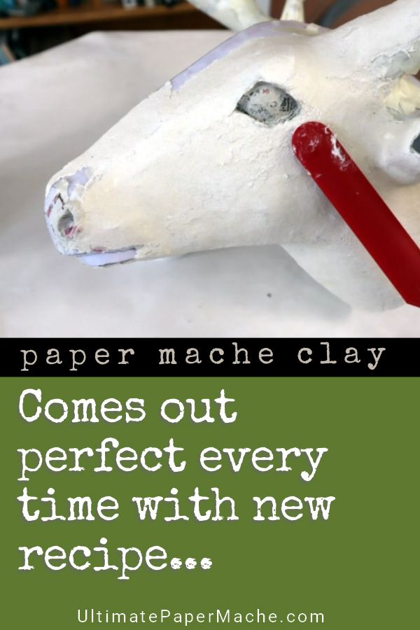 Make Paper Mache Clay Perfect Every Time with a Kitchen