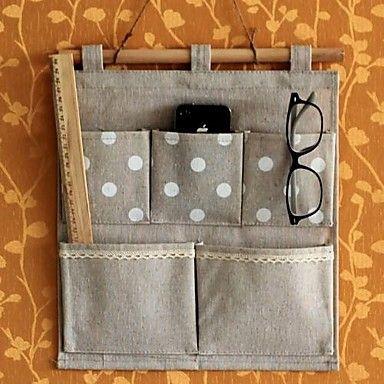 Algodão e linho saco de mantimento de Domicílios Receba Bag                                                                   – BRL R$ 119,67