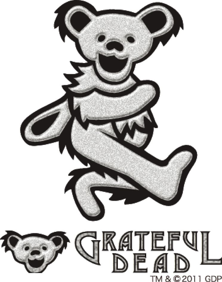 Free Coloring Pages Of Grateful Dead Bear Grateful Dead Bears