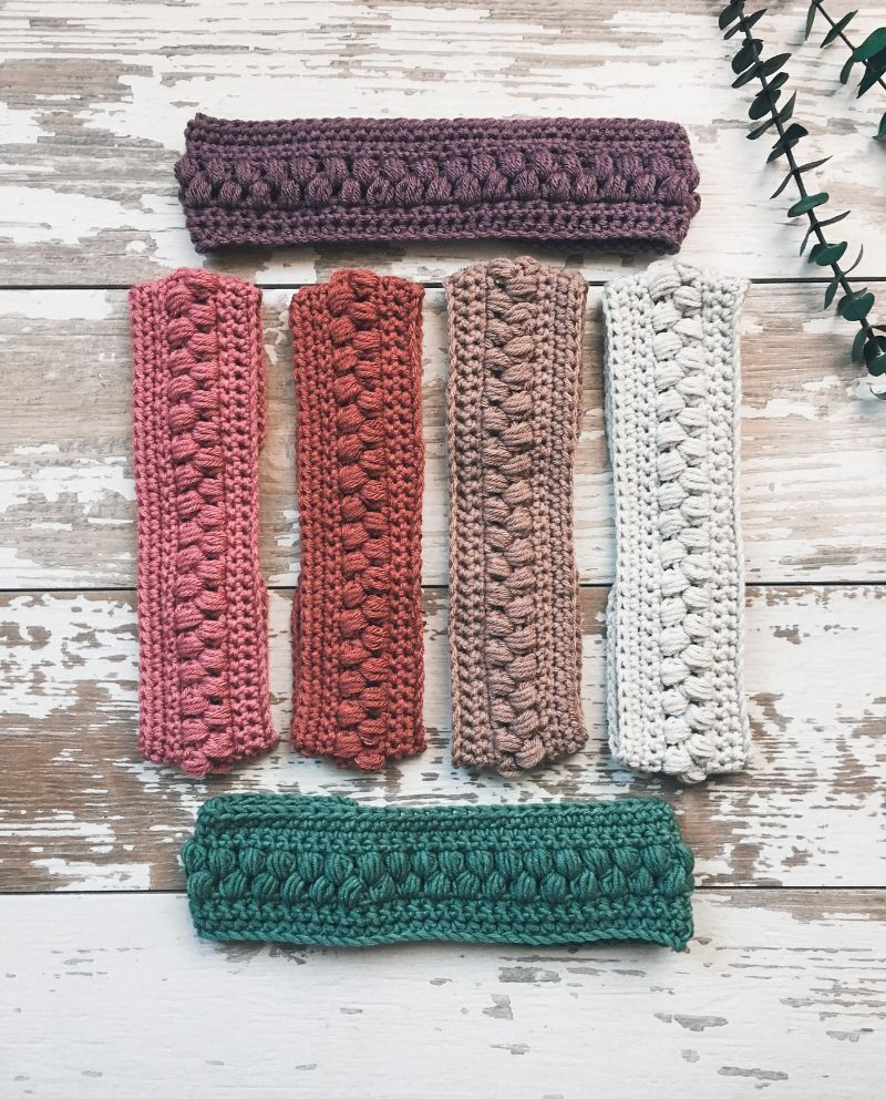 Easy Crochet Headbands
