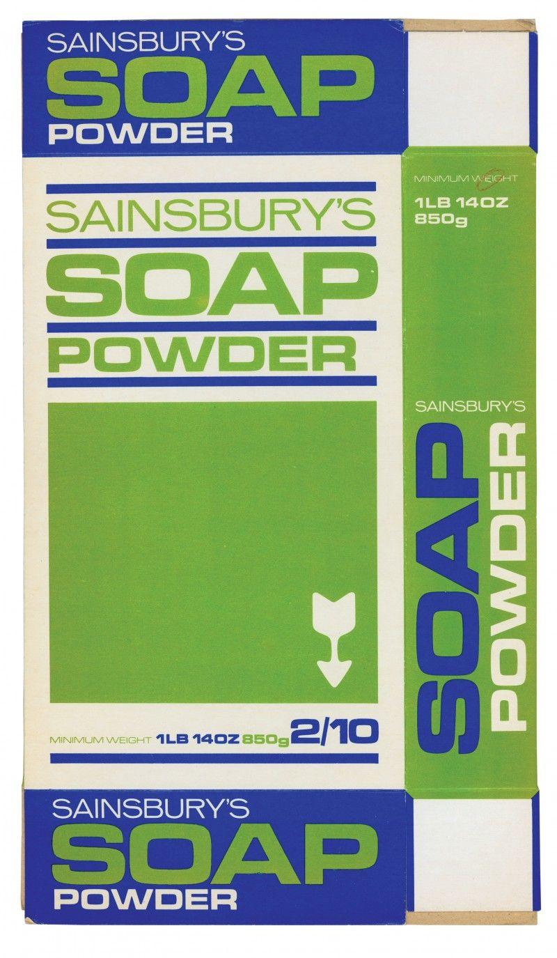 Sainsbury Archive Sainsburys Powder Soap Labels