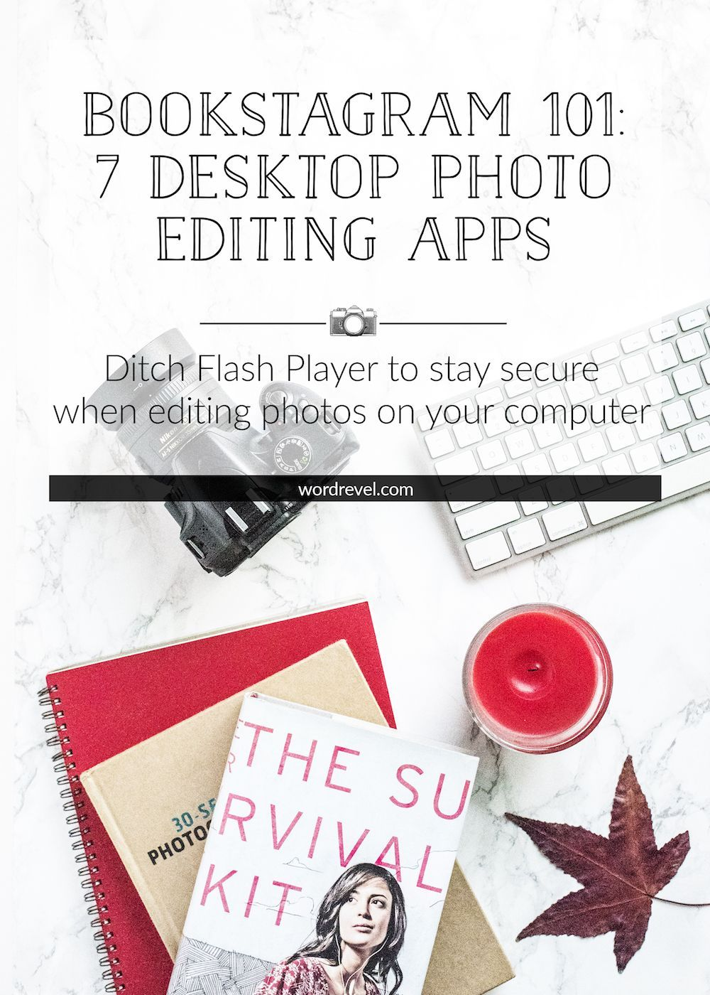 Bookstagram 101 7 Desktop Photo Editing Apps (Word Revel