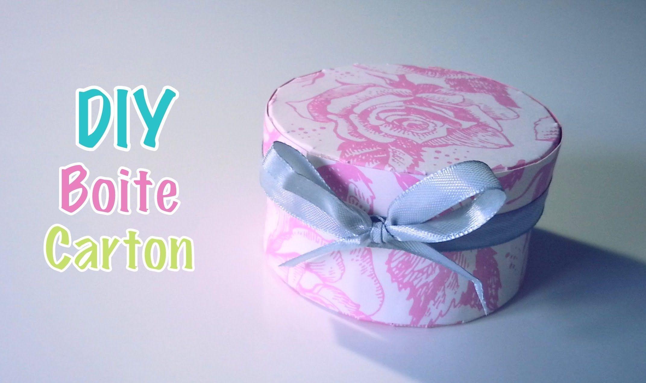 Diy Boite En Carton Et Papier Cadeau Bijoux Dragees Boite En Carton Papier Cadeau Cadeaux Bijoux